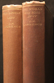 lawrence, whoman who rode away, lovely lady, london, tecker, 1928, 1932, original