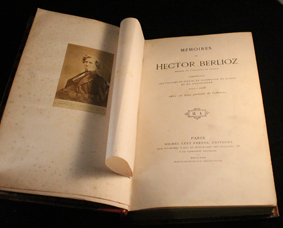 berlioz, memoires, michel levy, 1870, originale, portrait, compositeur, photo, sonnet, shakespeare